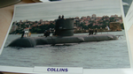 Collins 1993 Submarine warship framed picture (8) (14)